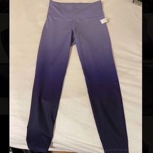 NWT purple ombré work out leggings from Old Navy